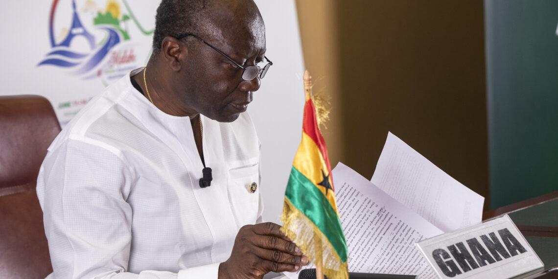 Ghana' Finance Minister Ken Oori Atta