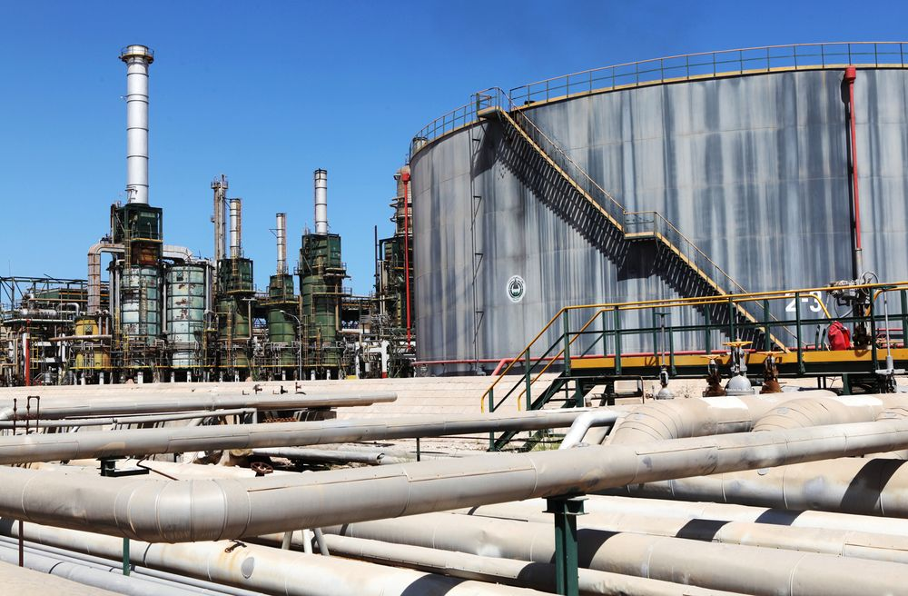 Libya oil production