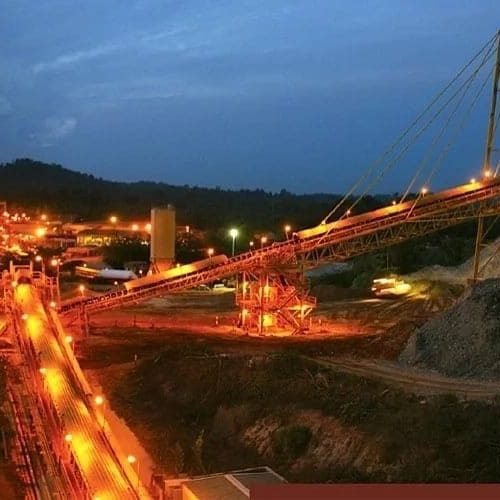 mining site in Ghana