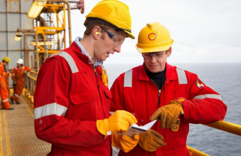Some Officials of SHELL