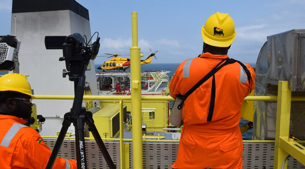 Eni offshore operation