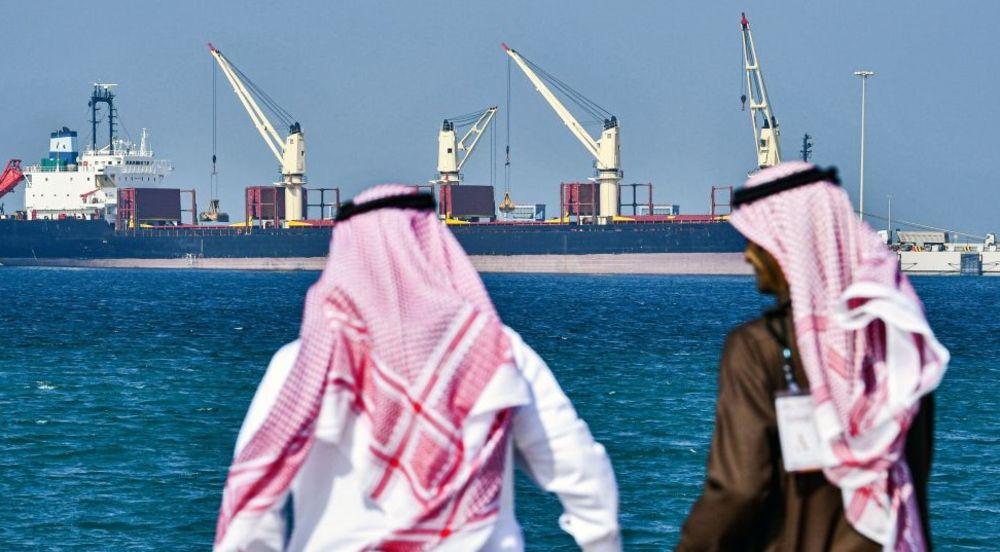 Saudi Arabia oil field