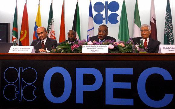 Officials at OPEC Meeting