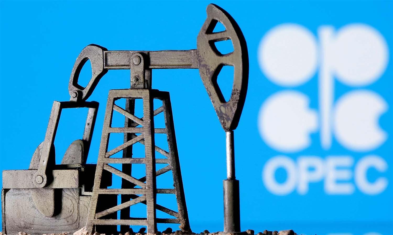 OPEC oil drill