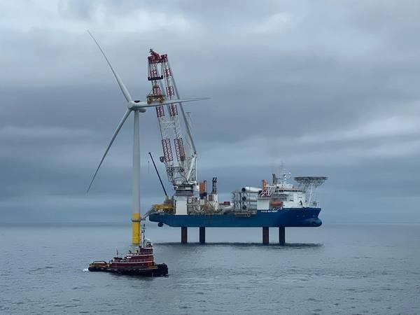 Wind Farm Offshore in Scotland